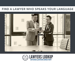 Lawyers Lookup - Lawyers Who Speak Your Language at www.lawyerslookup.ca